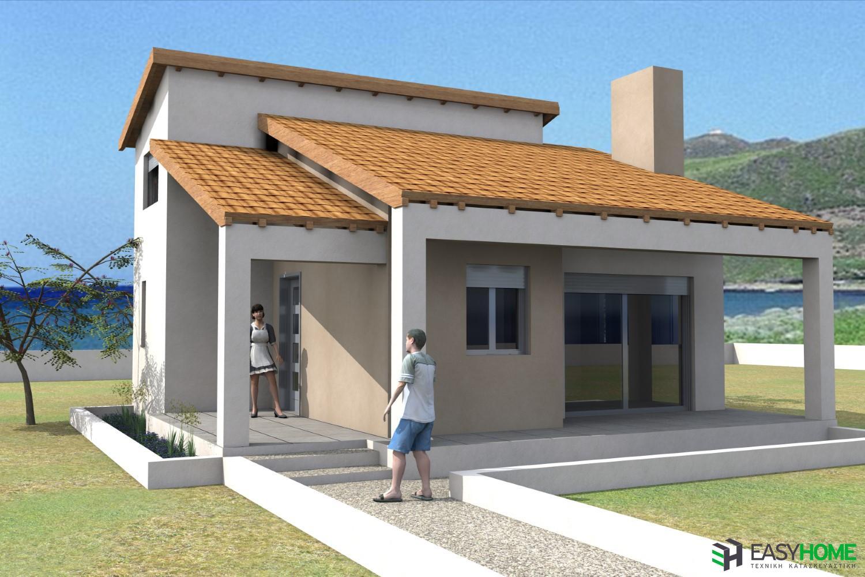 Οικία 42m² και σοφίτα 21m²