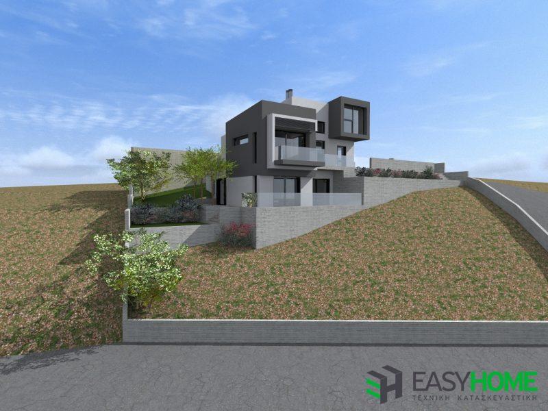 Διώροφη οικία 150m² και υπόγειο 126m²