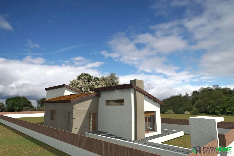 Ισόγεια οικία 125m²