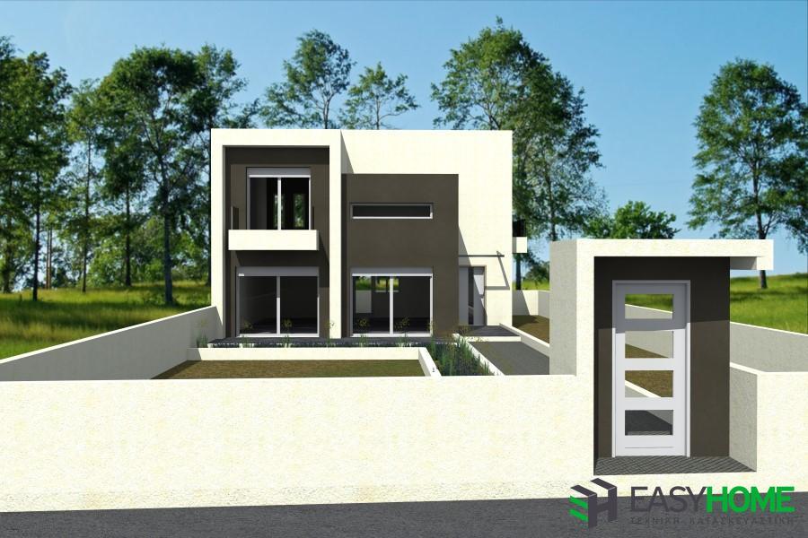Οικία 145m² και υπόγειο 76m²