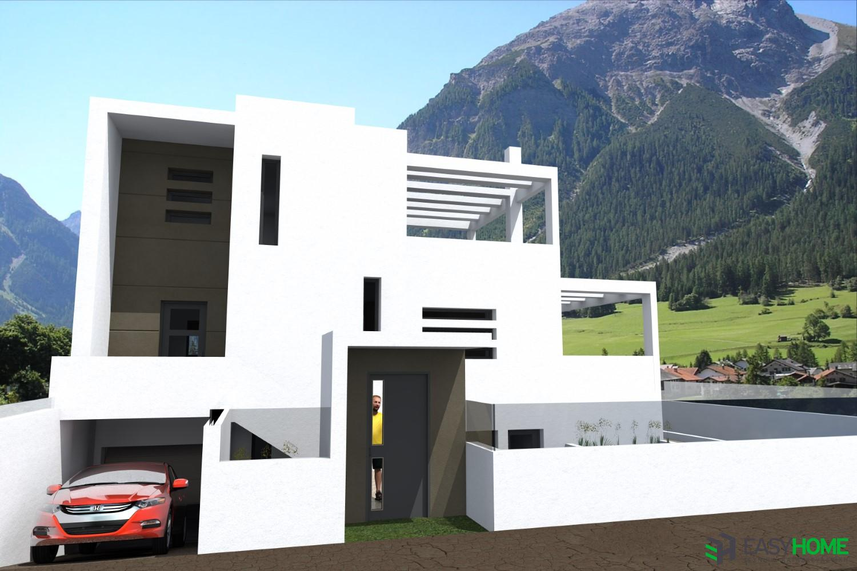 Διώροφη οικία 170m² με υπόγειο 60m²