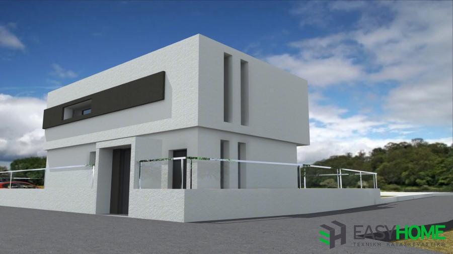 Οικία 135m² και υπόγειο 80m²