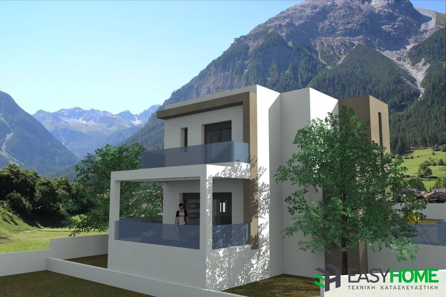 Διώροφη οικία 145m² και υπόγειο 70m²