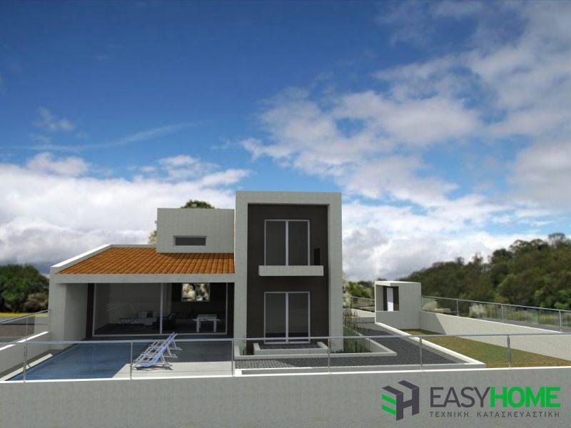 Διώροφη οικία 165m² με υπόγειο 100m²