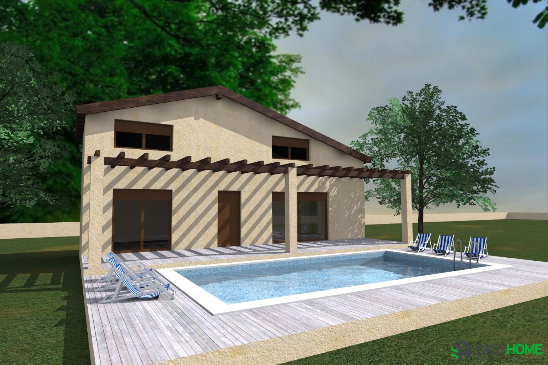 Οικία 60m² και σοφίτα 30m²