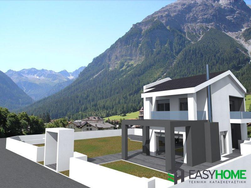 Οικία 135m² με υπόγειο 70m²
