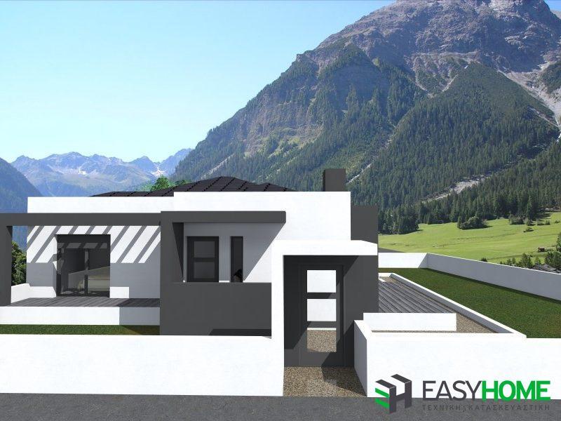 Οικία 140m² με υπόγειο 80m²