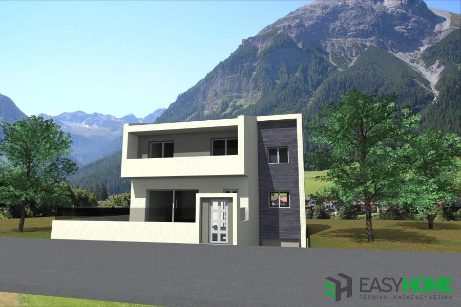 Οικία 145m² και υπόγειο 88m²