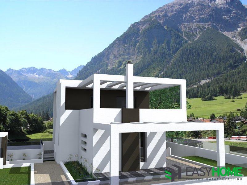 Διώροφη οικία 163m² με υπόγειο 55m²