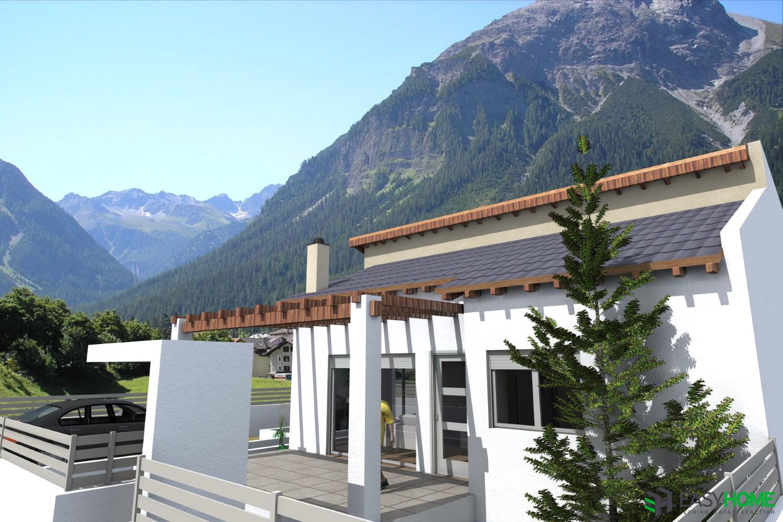 Οικία 70m² με σοφίτα 35m²