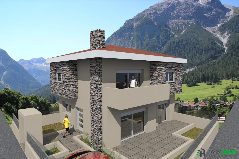Οικία 150m² και υπόγειο 50m²