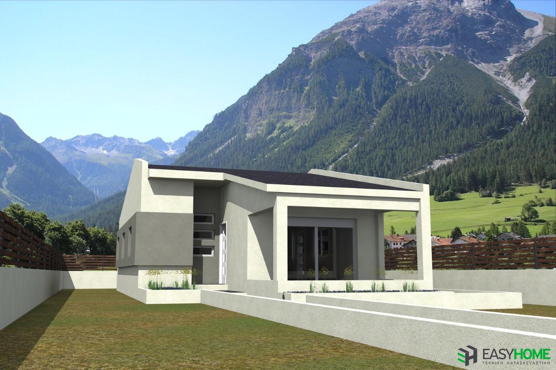 Ισόγεια οικία 83m²