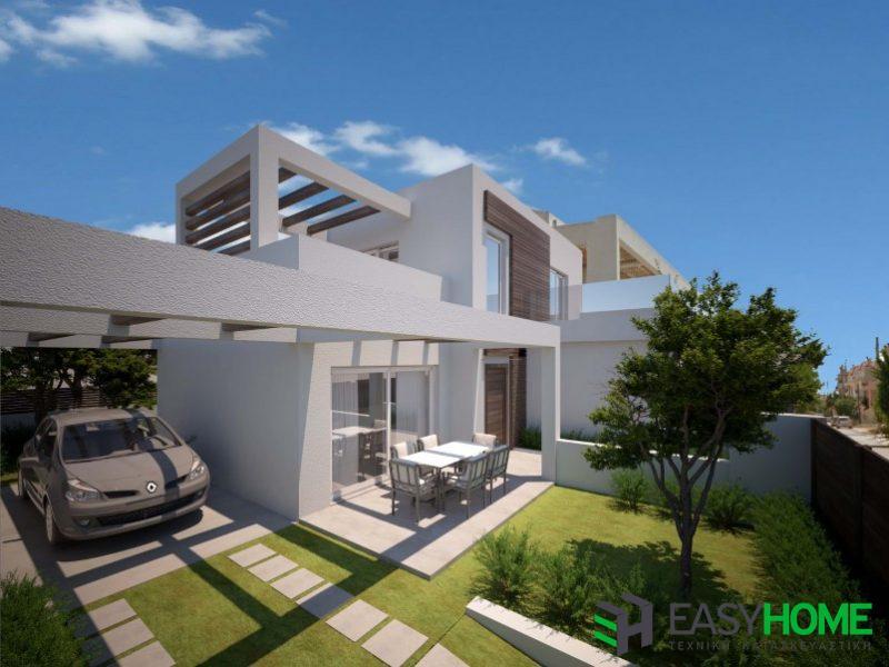 Οικία 142m² με υπόγειο 42m²