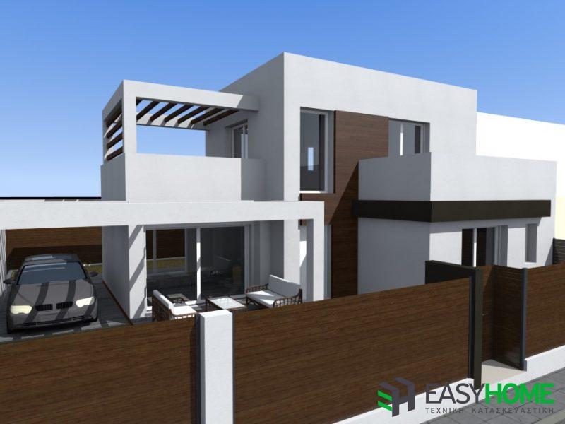 Οικία 140m² και υπόγειο 42m²
