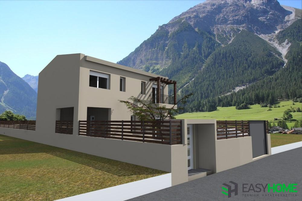 Διώροφη οικία 141m²